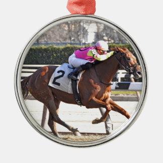 Spun Copper Metal Ornament