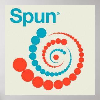 Spun dry poster
