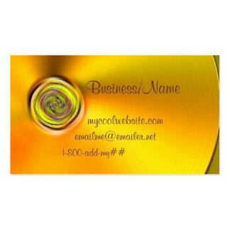 Spun Gold Business Card