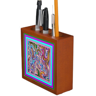 Spunky and Colorful Prism Desk Organizer