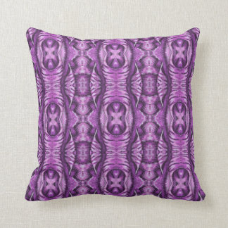 Spunky Electric Purple Space Wing Pillow