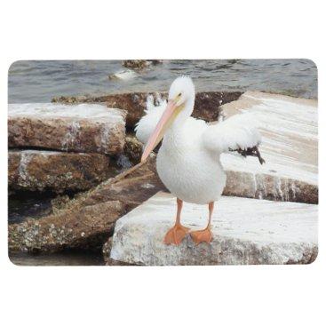 Spunky Pelican Floor Mat