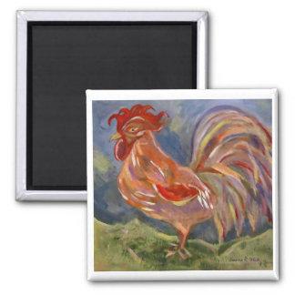 Spunky Rooster Magnet