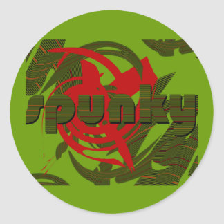 Spunky Stickers
