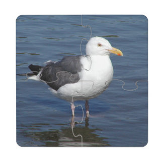 Spunky Wading Seagull Coaster Puzzle