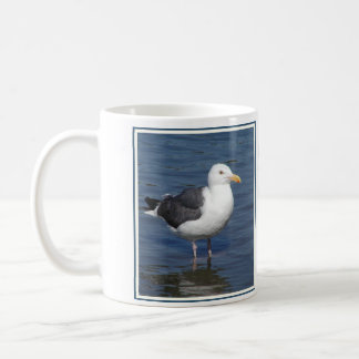 Spunky Wading Seagull Mug Keep Your Feet Dry