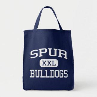Spur - Bulldogs - Spur High School - Spur Texas Canvas Bag