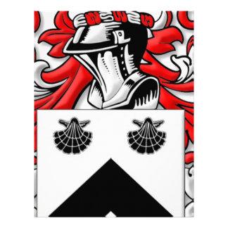 Spurgeon Coat of Arms Customized Letterhead