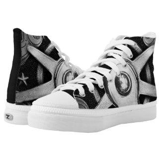 Spurred Chucks High-Top Sneakers