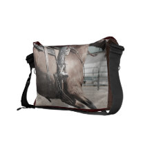 Spurred Messenger Bag