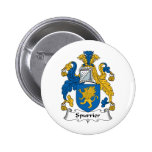 Spurrier Family Crest Pins