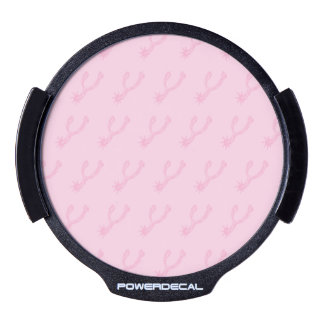 Spurs Pinks.ai LED Window Decal