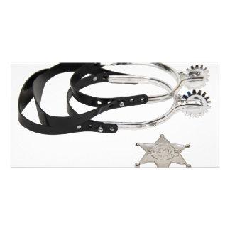 SpursStar051009 Custom Photo Card