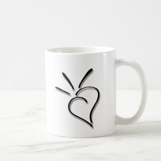 Spurting Sass Heart - Coffee Mug