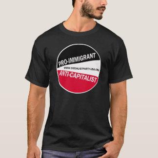 SPUSA Pro-Immigrant/Anti-Capitalist T-Shirt