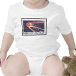 Sputnik 1 5th Anniversary 1962 Baby Bodysuits