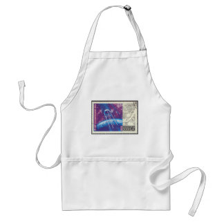 Sputnik 1 Russian Space Science 15 Years Adult Apron