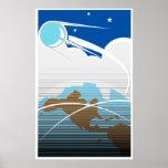 Sputnik in Orbit Poster