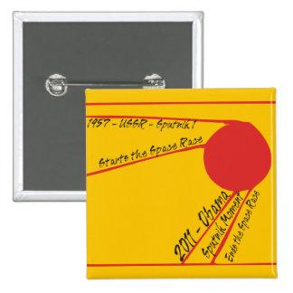 Sputnik Moment Pinback Button