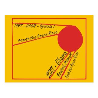 Sputnik Moment Postcard