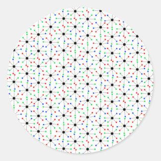 Sputnik Pattern Sticker