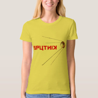 SPUTNIK - space/russian/soviet union/technology T-Shirt