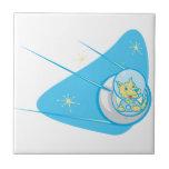 Sputnik y Laika Azulejos Cerámicos