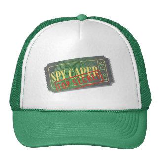 Spy Caper Movie Ticket Hat