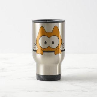 Spy cat travel mug