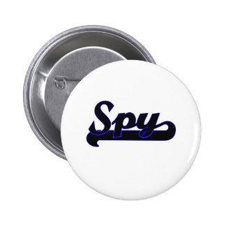 Spy Classic Job Design 2 Inch Round Button