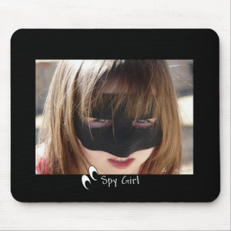 Spy Girl Mouse Pad