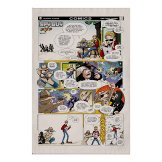 SPY GUY: One-Pager Funnies #1 Poster