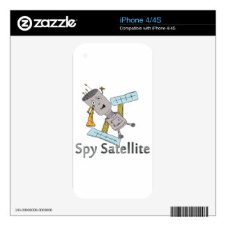 Spy in the Sky Decal For The iPhone 4S