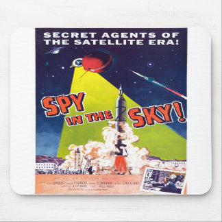 Spy in the Sky Mousepad