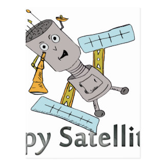 Spy in the Sky Postcard