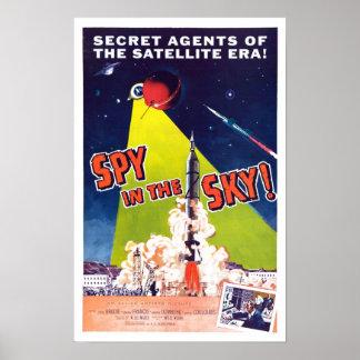Spy in the Sky Poster