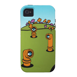 Spy Periscope Cartoon Case For The iPhone 4