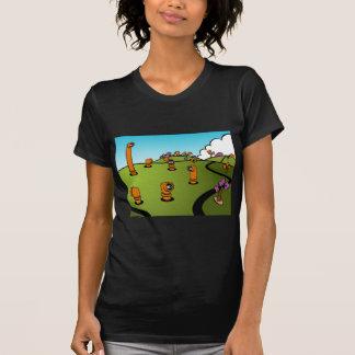 Spy Periscope Cartoon T-shirts