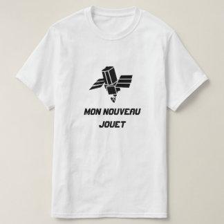 Spy Satellite with text Mon nouveau jouet T-Shirt