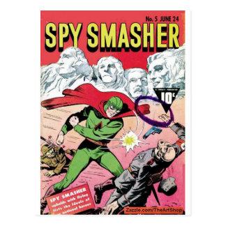 Spy Smasher Post Cards