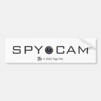 spycat, cAMERA LENS, SPY  CAM, © 2010 Rogo Pets Car Bumper Sticker