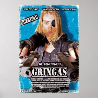 SPYDER - Gringas Movie Poster