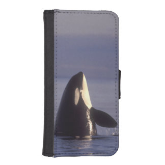 Spyhopping Orca Killer Whale (Orca orcinus) near iPhone SE/5/5s Wallet Case