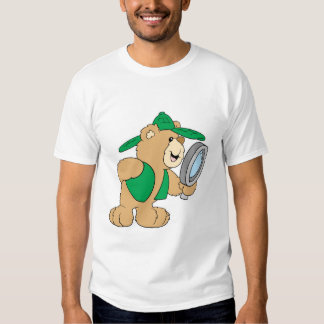 Spying Detective Bear T-shirt