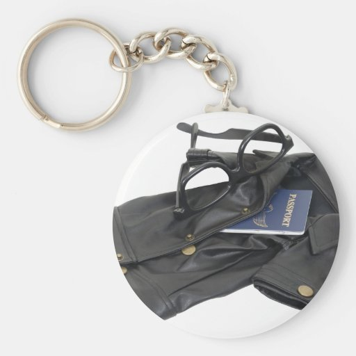 SpyKit072509 Basic Round Button Keychain