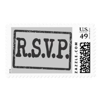 SpyRSVPstamp Postage Stamp