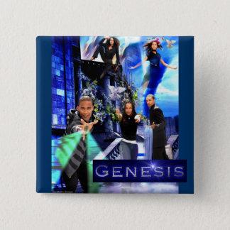 "SQ ""Genesis"" Button - Xavier's Logo"