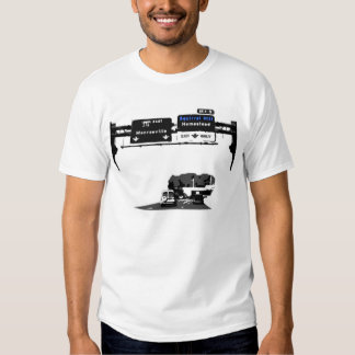 Sq Hill Highway Icon Tee Shirt