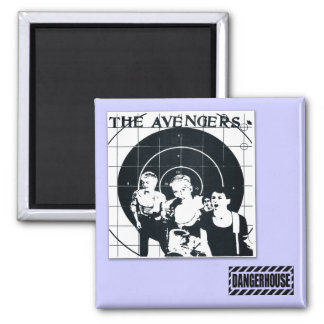 Sq. Magnet Avengers We Are The One T  Dangerhouse