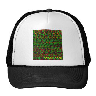SQ Stereogram Trucker Hat